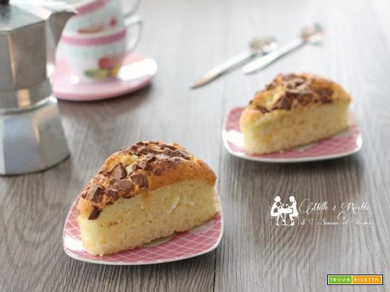 Tortine sofficissime, yogurt e cioccolato