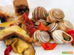 Lumache con funghi porcini