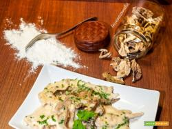 Ricetta scaloppine di pollo ai funghi