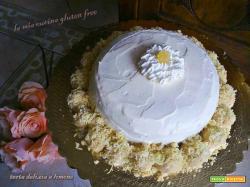 Torta delizia a limone senza glutine