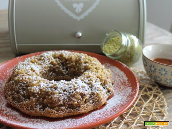 torta nocciole e pistacchi