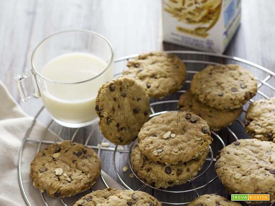 Biscotti all'avena e cioccolato