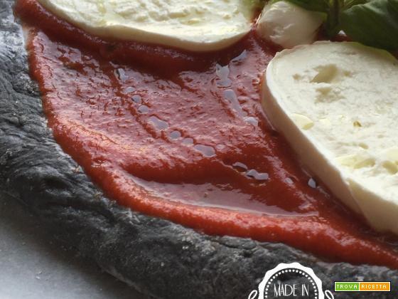 Pizza al carbone