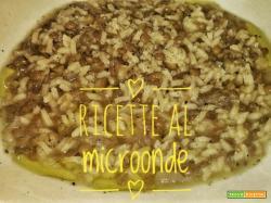 Riso e lenticchie al microonde