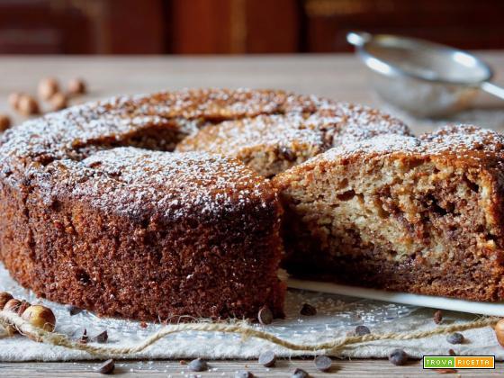 Torta Cremosa Ricotta e Nutella