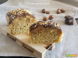 Plum cake alle nocciole e cioccolato – ricetta senza burro