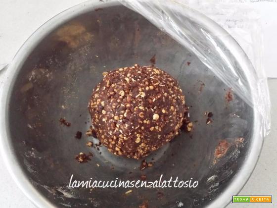 Biscotti Gran Cereale al cioccolato – fatti in casa – senza uova senza lattosio