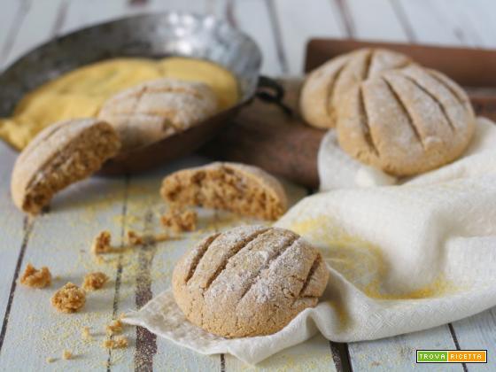 Panini al mais e farina integrale