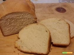 Pane con farina di kamut nella macchina del pane