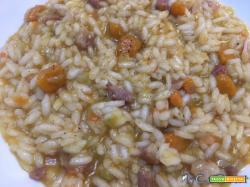 Risotto zucca e speck con Cuisine e i-Companion Moulinex (o con pancetta o salsiccia)