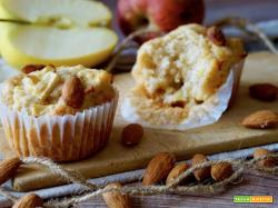 Muffin alle Mele e Mandorle