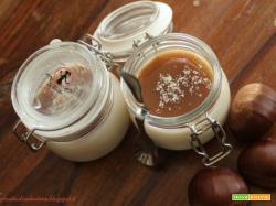 Panna cotta al cioccolato bianco e crema di marroni (ricetta bimby)