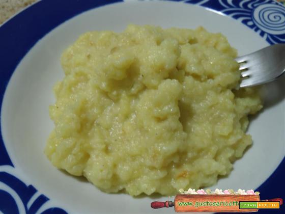Purè con patate e sedano rapa