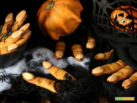 Dita di strega a dieta – ricetta per Halloween