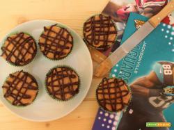 Cupcake al burro d'arachidi e cioccolato