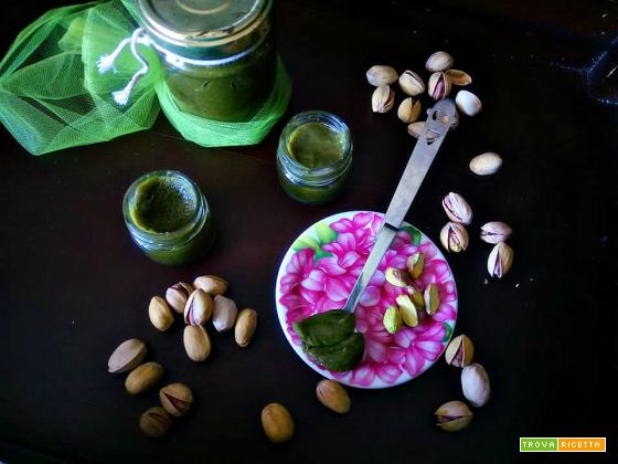 Crema di pistacchio da spalmare