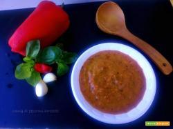 Crema di peperoni arrostiti