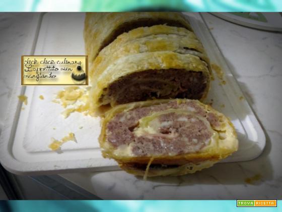 Polpettone Con ripieno Goloso in Crosta!!