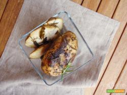 Arrosto di patate dolci