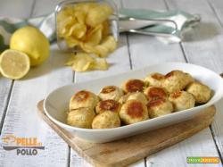 Polpette di pollo arrosto al limone