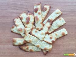 Cracker di kamut all'olio senza lievito