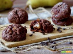 Biscotti Morbidi Cioccolato e Pere