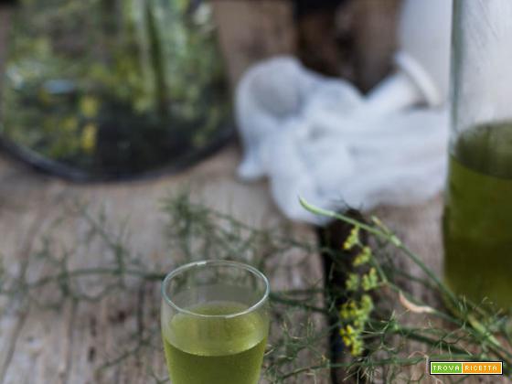 Come fare il liquore di Finocchietto in casa, ottimo e naturale digestivo.