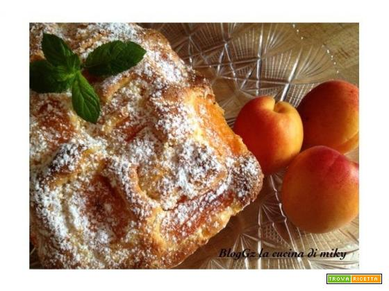 Plumcake albicocche e yogurt gluten free