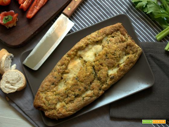 Polpettone di pane, zucchine & co.