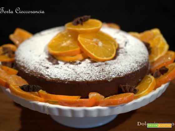 Torta cioccoarancia -dolceinverno