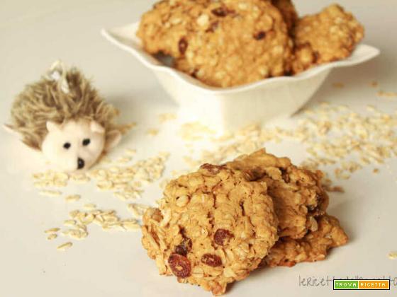 Biscotti avena e uvetta: ricetta veloce dal risultato assicurato!