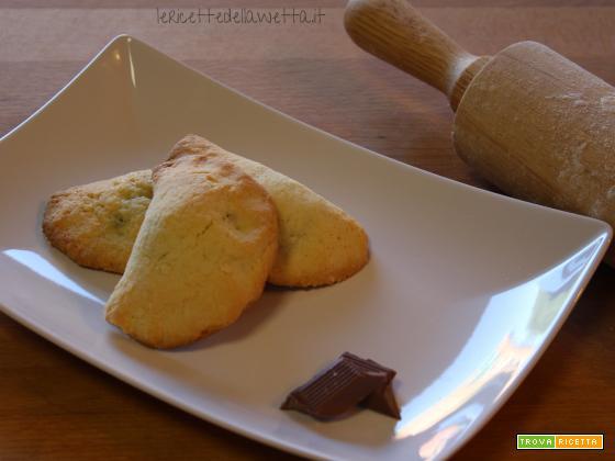 Biscotti con ricotta e cioccolato