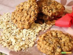 Biscotti vegani avena e cioccolato: BUONISSIMI!