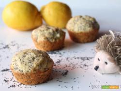 Muffin al limone e semi di papavero: BREXIT non ti temiamo!
