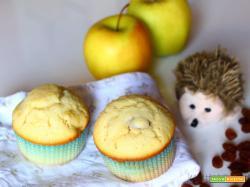 Muffin mele e uvetta: la dolcissima ricetta!
