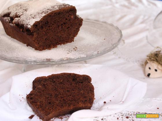 Plumcake al cioccolato SENZA uova e burro!