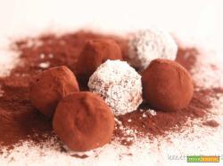 Tartufini di cioccolato: piccole palline di piacere!