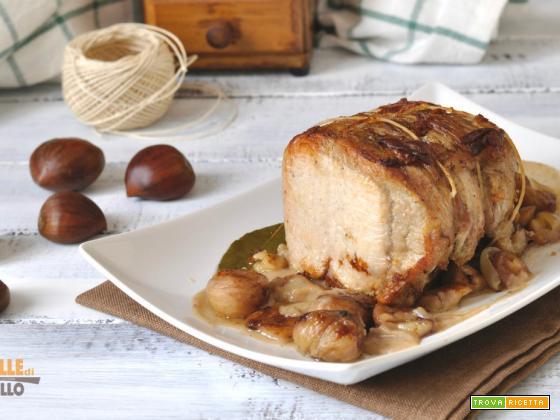 Arrosto di maiale alle castagne