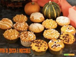 Muffin di zucca e nocciole
