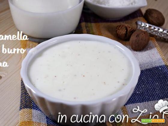 Besciamella light senza burro e farina