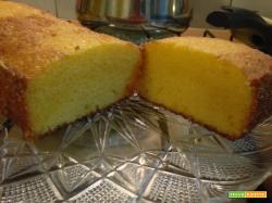 PLUM-CAKE DI FARINA GIALLA