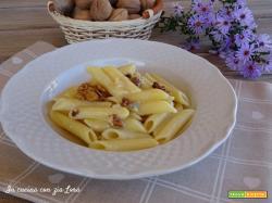 Penne di Gragnano con gorgonzola e noci