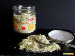 Dado vegetale in polvere