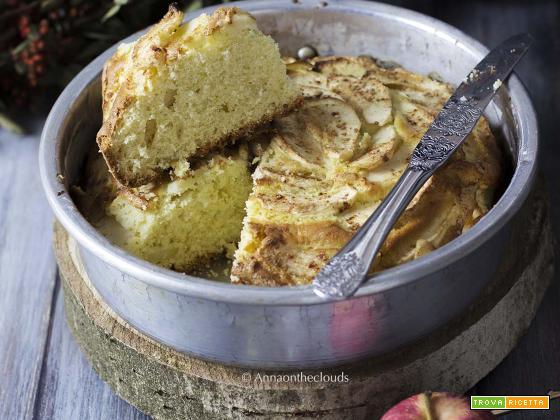 Ricetta Torta soffice di mele (senza burro)