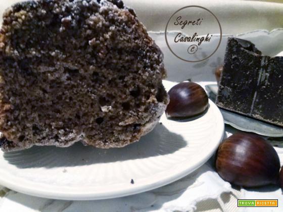torta castagne lesse cioccolato