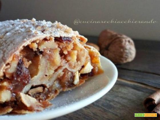 Strudel di mele ricetta tradizionale