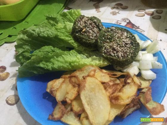 Medaglioni cicoria e castagne- burger vegan +video ricetta