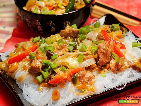 Bocconcini di soia alle cinque spezie cinesi