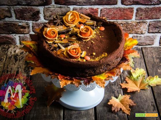 Torta Brownies di Riso al cioccolato e arancia – I Menù del SorRISO