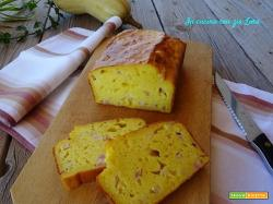 Plumcake salato alla zucca ricetta veloce